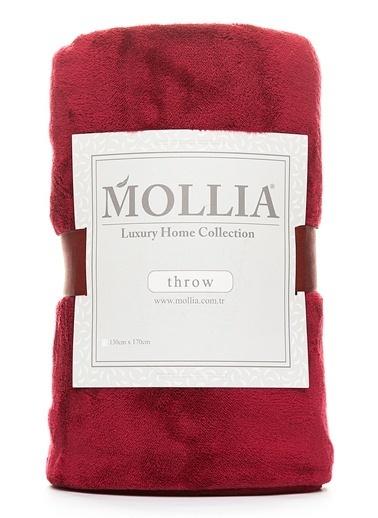 Mollia Soft Touch Diz Üstü Battaniye Bordo